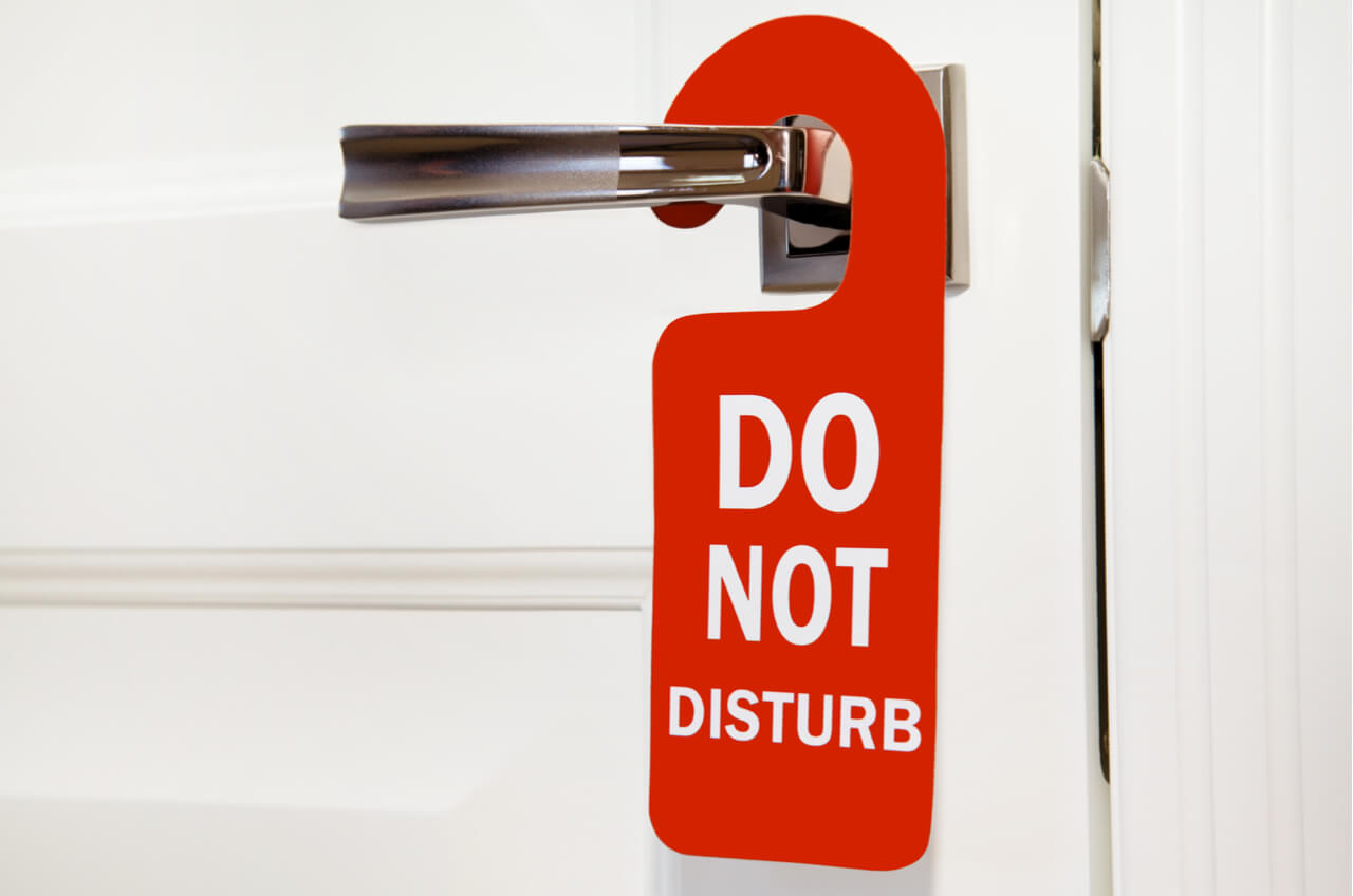 what does the do not disturb on iphone do caesars taking liberties with the idea of do not disturb 21450