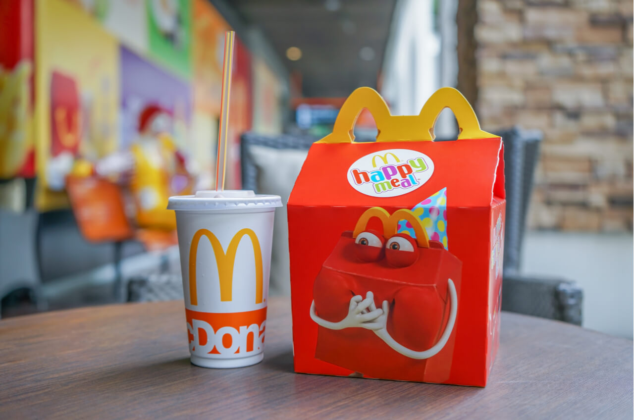 Mcdonalds happy meal toy with a slot is hardly marketing casinos to kids