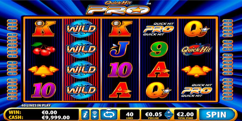 Quick Hit Pro Game Screenshot