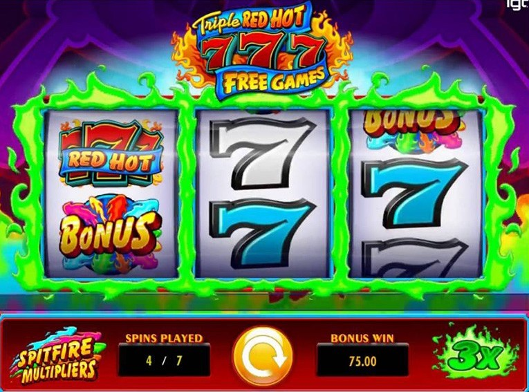 Free Spins Red Hot Sevens