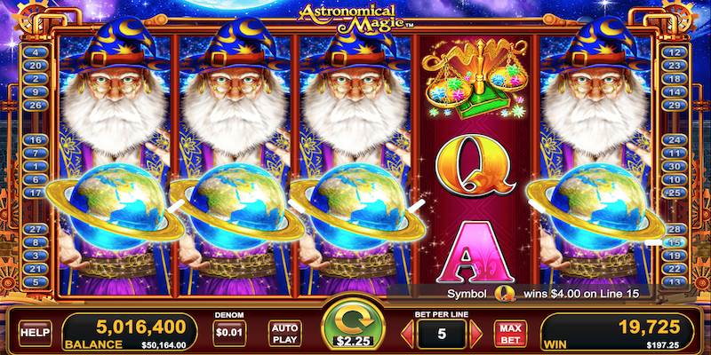 Free Astronomical Magic Free Spins