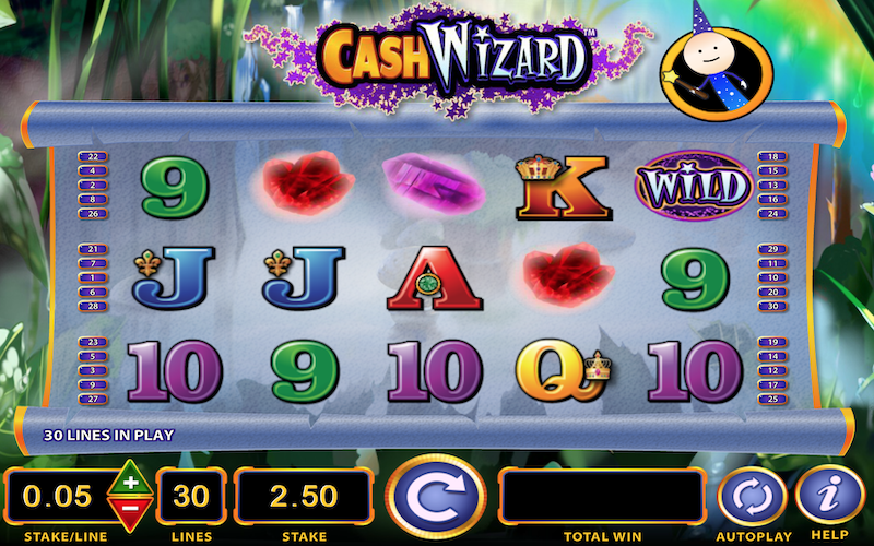Cash Wizard Slot Game