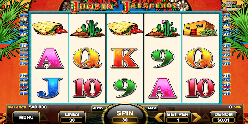Jumpin Jalapenos Slot Game