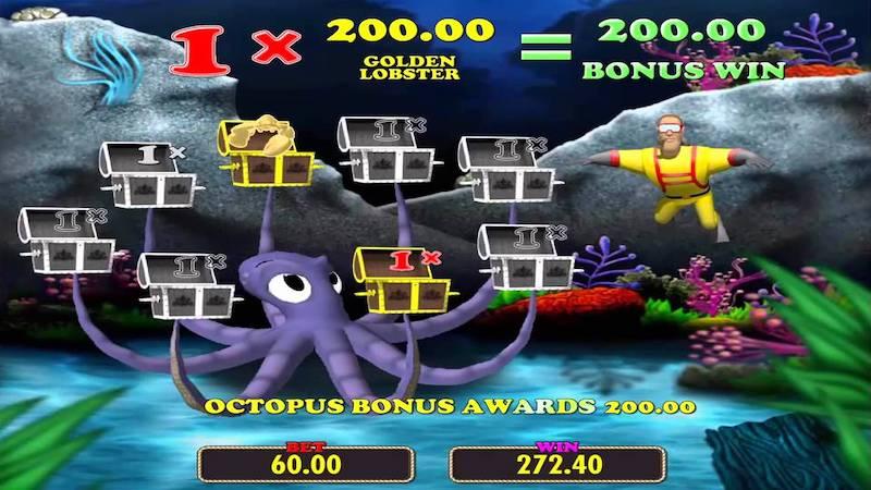 Lobstermania Slots Bonus Round