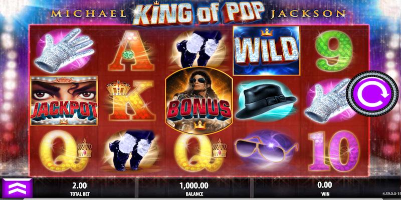 Michael Jackson Free Slots