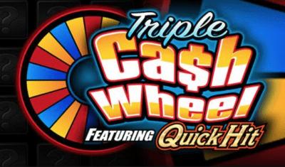 Quick Hit Triple Cash Wheel