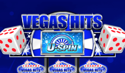 Vegas Hits Slot Machine Logo