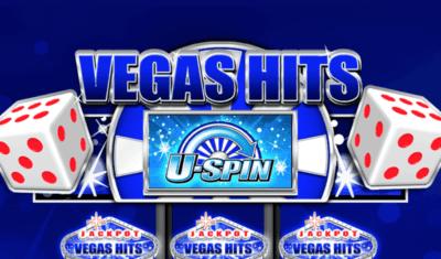 Vegas Hits Slot Machine Logo