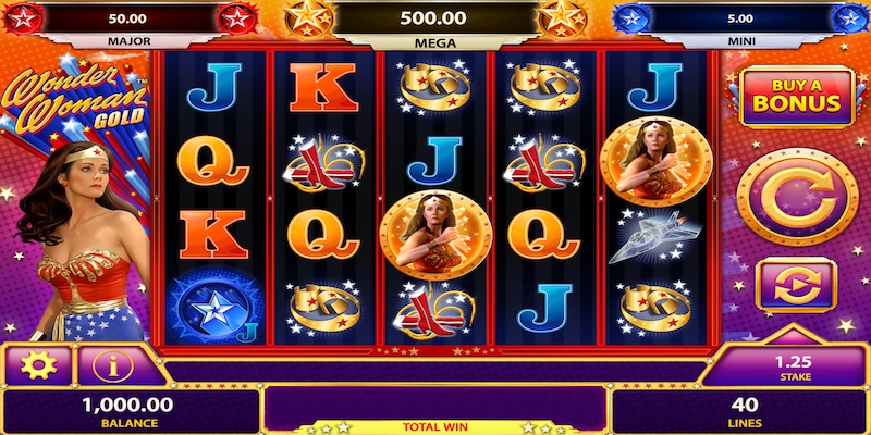 Wonder Woman Slots Machine Free
