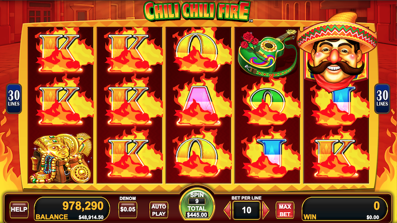 Free to Play Chili Chili Fire Slots