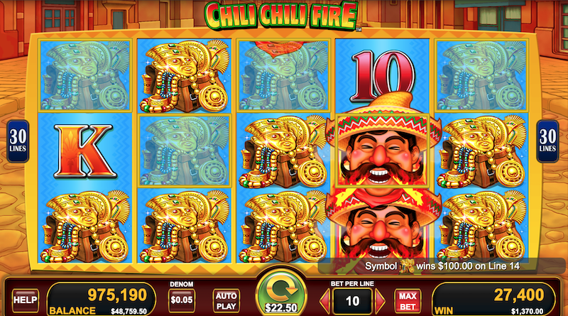 Chili Chili Fire Slot Machine Review