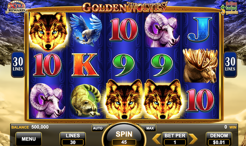 Free Golden Wolves Slot
