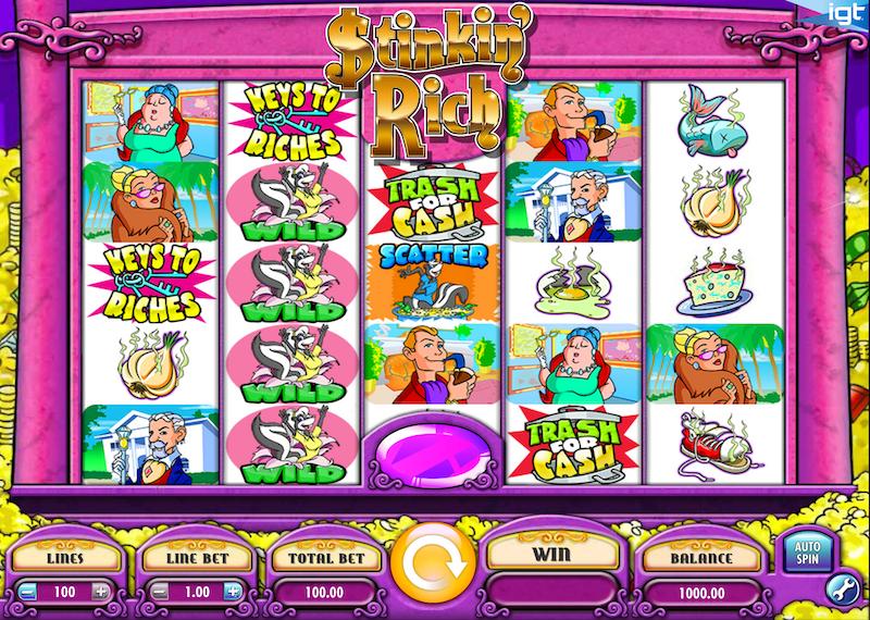 Stinkin' Rich Free Slots
