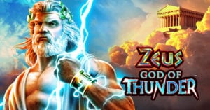 Zeus God of Thunder Slots Machine