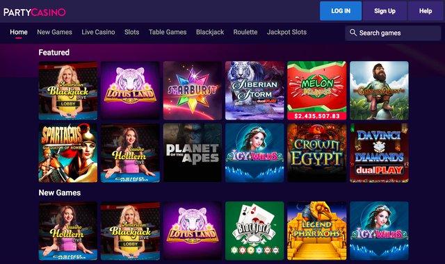 Partycasino nj bonus code $25 free 100% up to $500 slots free cleopatra