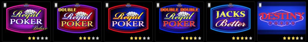 Golden Nugget Casino video Poker