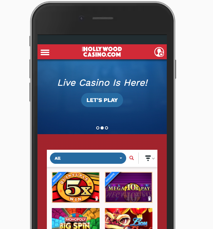 Hollywood Casino App in PA